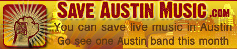 Save Austin Music Banner