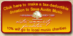 donate to save austin music